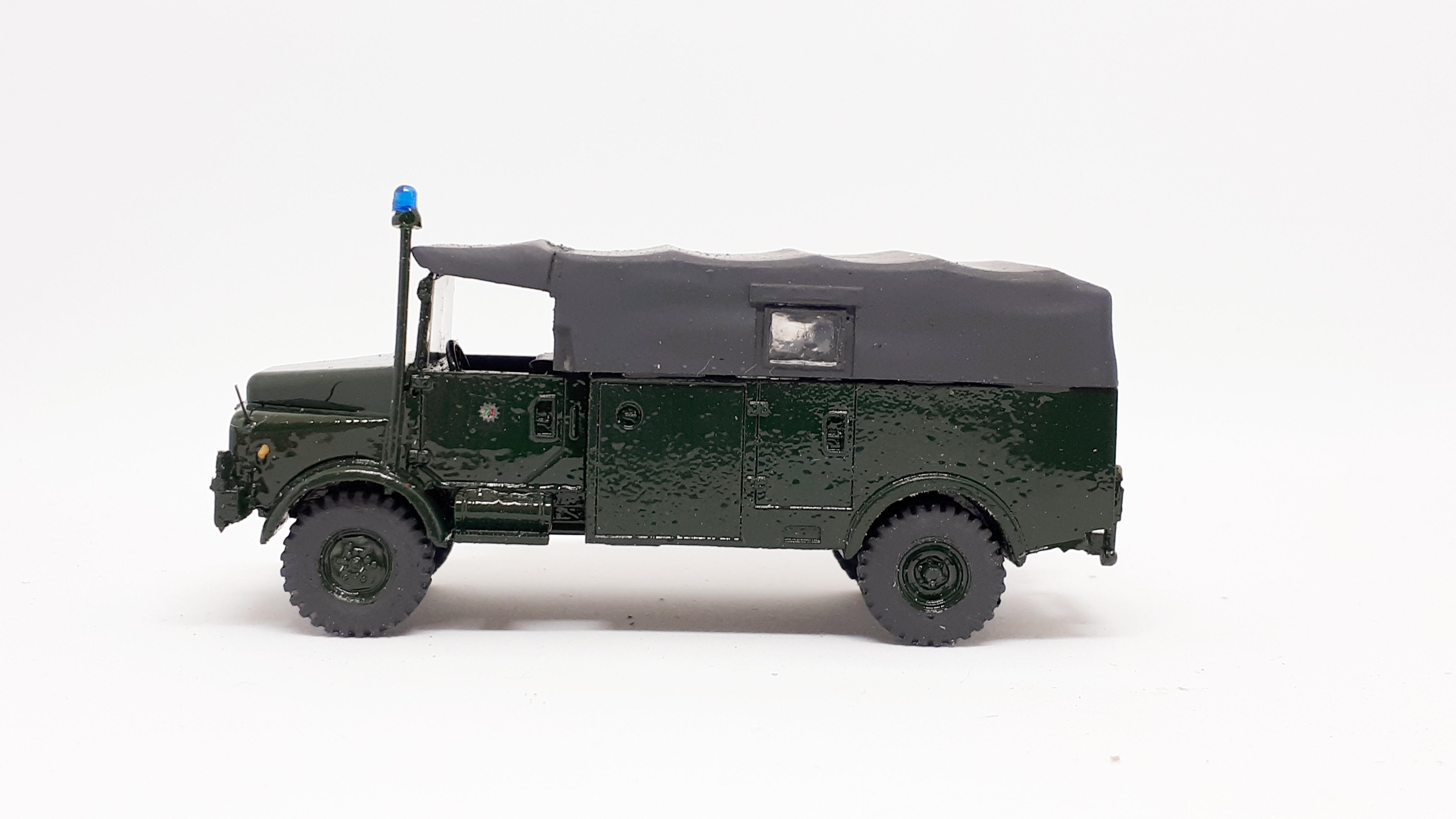 Hanomag AL 28 A Gruppenkraftwagen II bayrische Bereitschaftspolizei