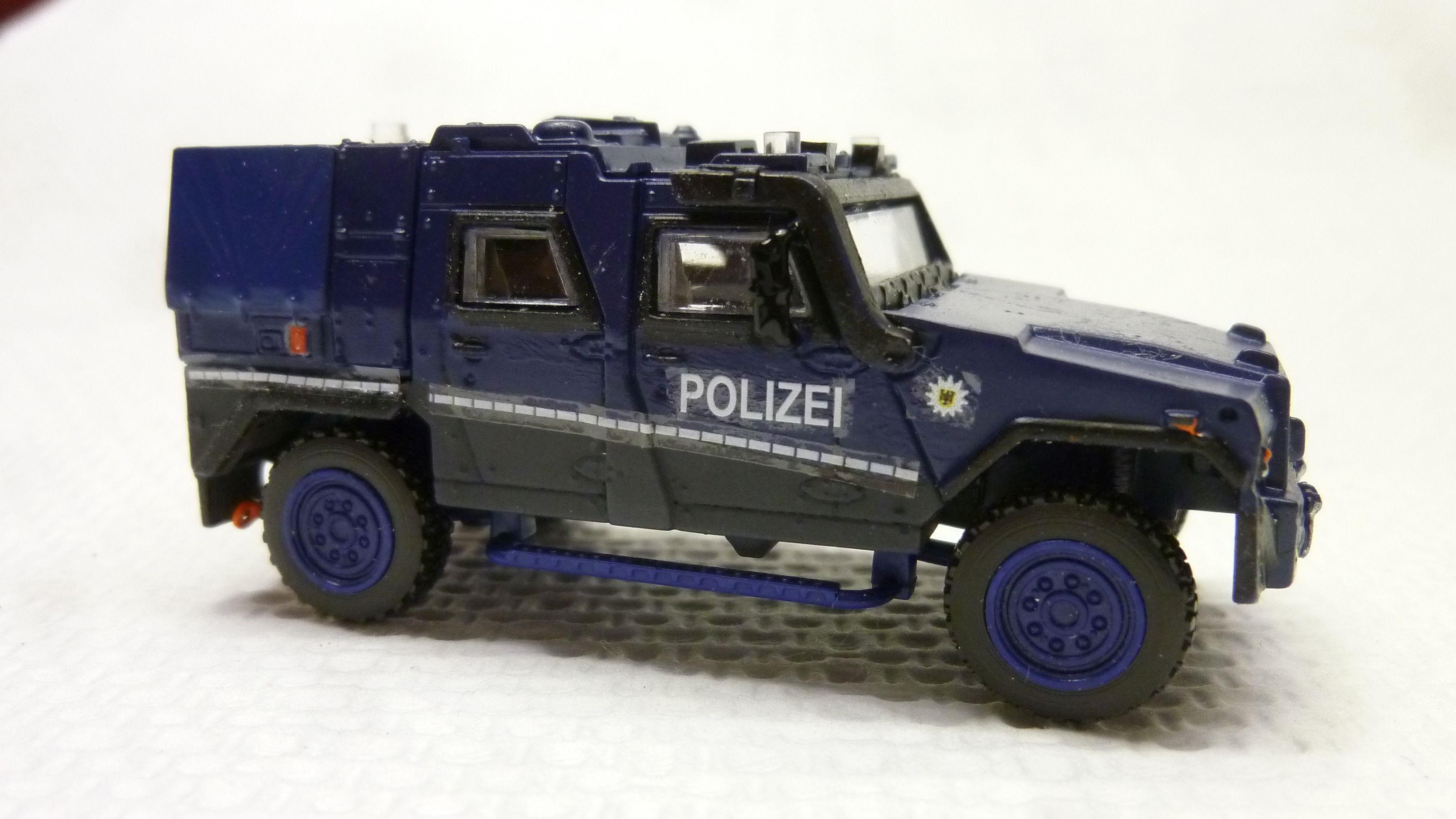 MOWAG EAGLE IV geschützter Sonderwagen Bundespolizei