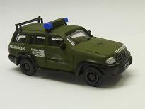 Nissan Patrol Streifenwagen der Feldjäger