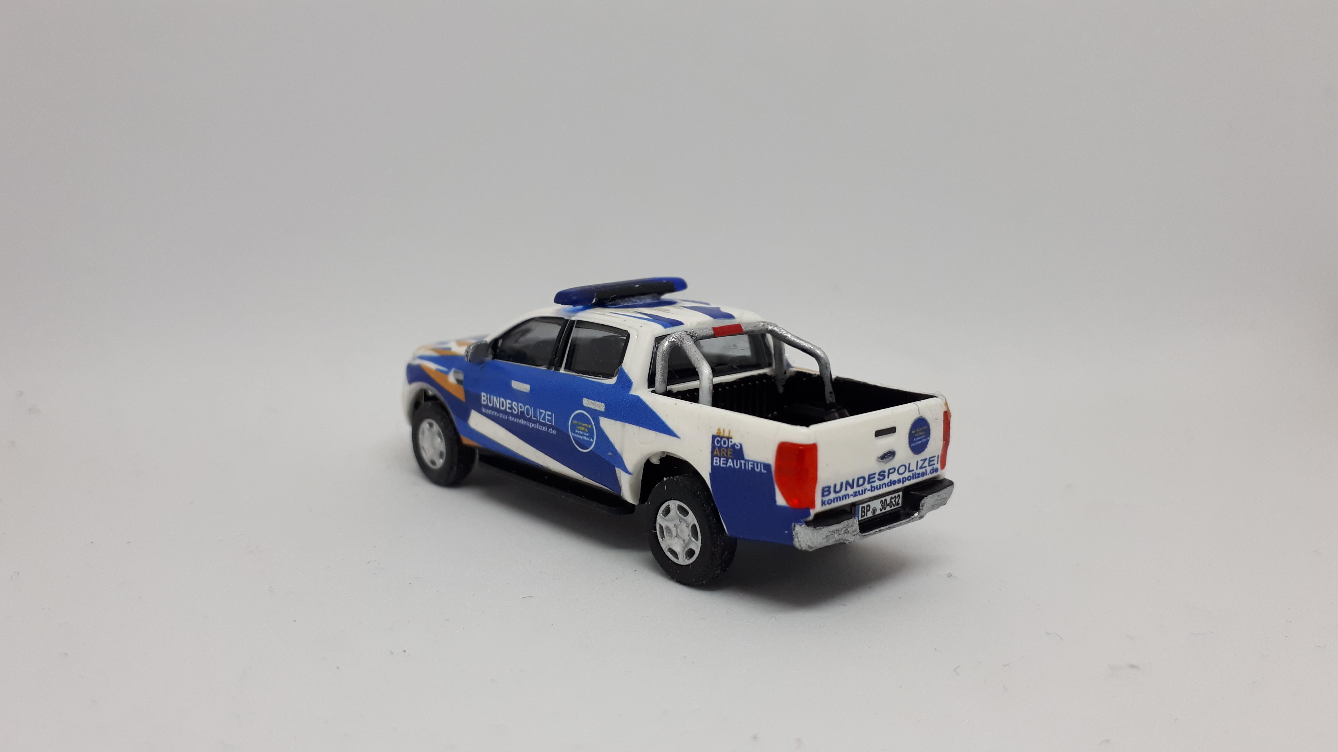 Ford Ranger Bundespolizei